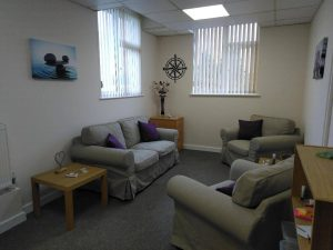 Face to face bereavement change and loss counselling room Chorley Lancashire