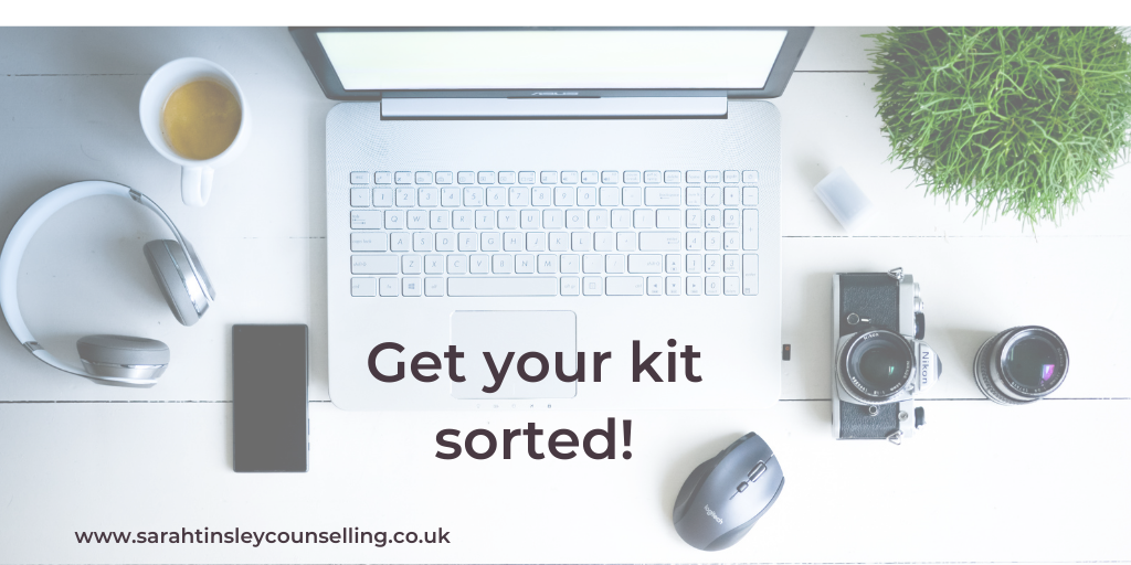 Equipment for online counselling