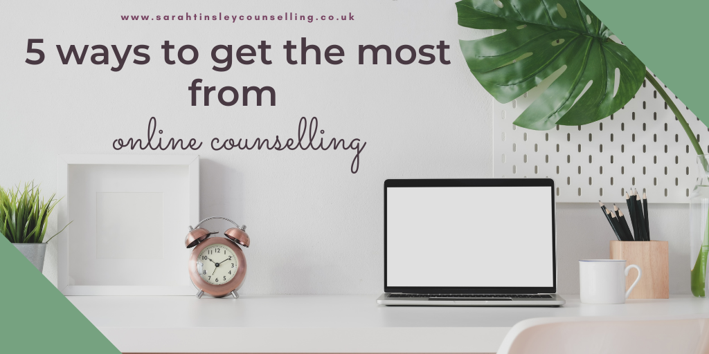 5 ways to get the most from online counselling