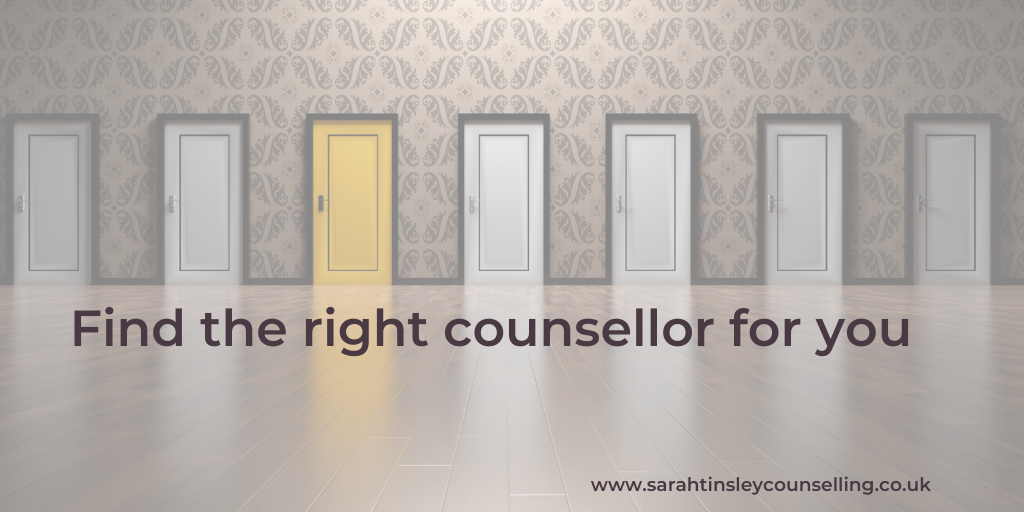Find the right online counsellor for you